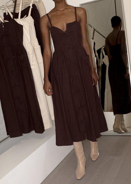 Ajaie Alaie Candor Dress - Cocoa