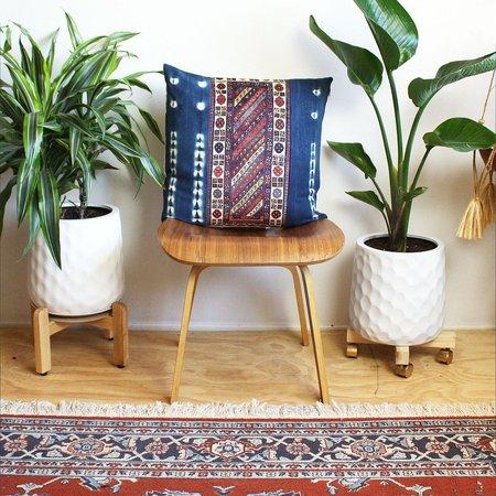 Norwegian Wood Rug Strip Pillow - Indigo