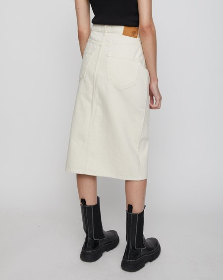 JUST FEMALE Pacific Skirt - Off White