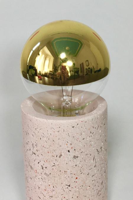 Talbot & Yoon Bob Lamp, pink granite