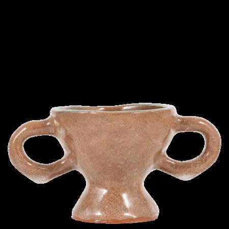 KENDRA YEE Small Tray - brown