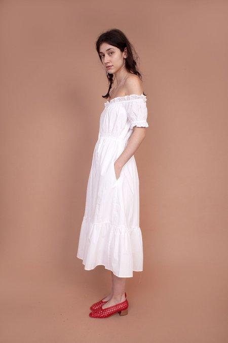 MEADOWS dress - white
