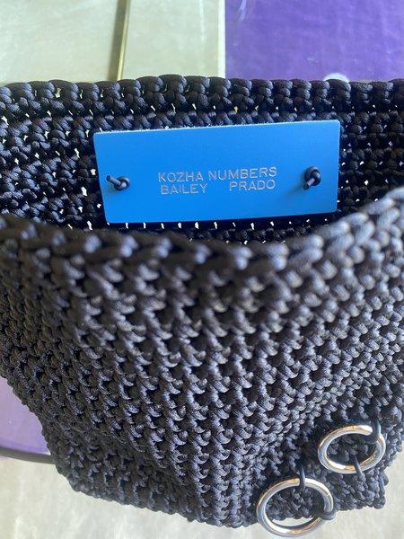 Kozha Numbers PRADO BAG - black