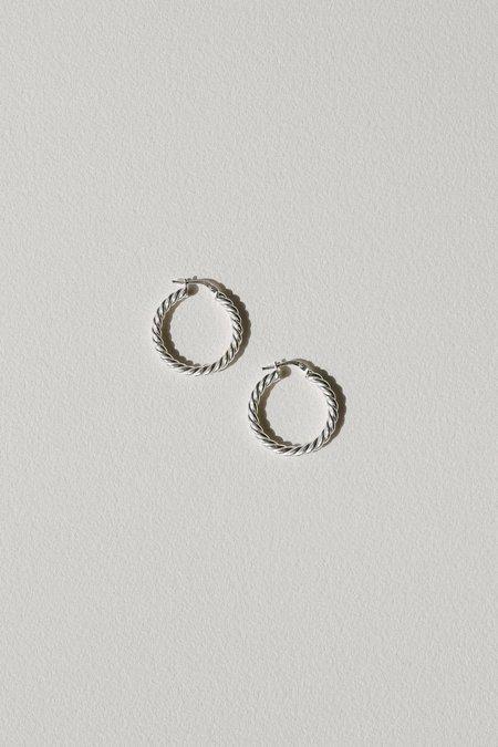 Vermeer Studio Iris Small Hoop Earrings