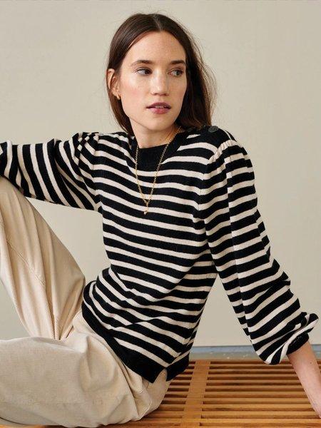 Bellerose Gopear Knit Sweater - Stripe