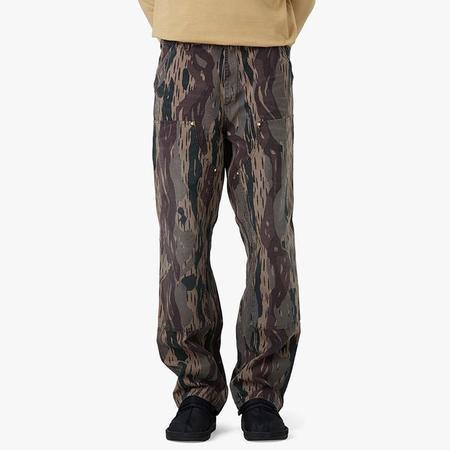 Carhartt WIP Double Knee Pant - Camo Unite Aged Canvas