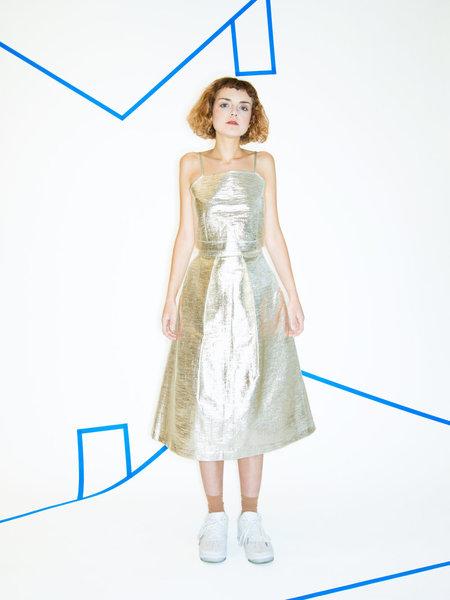 Nikki Chasin Chase Midi Fete Skirt