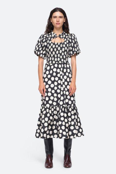Sea NY Arline Dress - Black/White