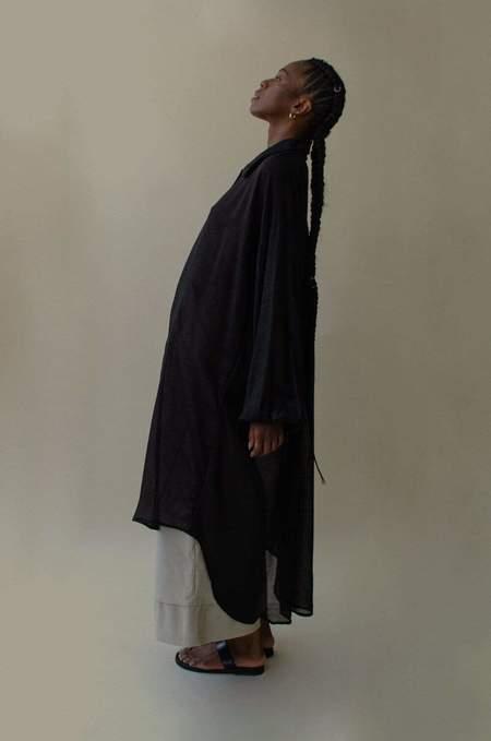 Nin Studio Omni Button Up Shirt - Black
