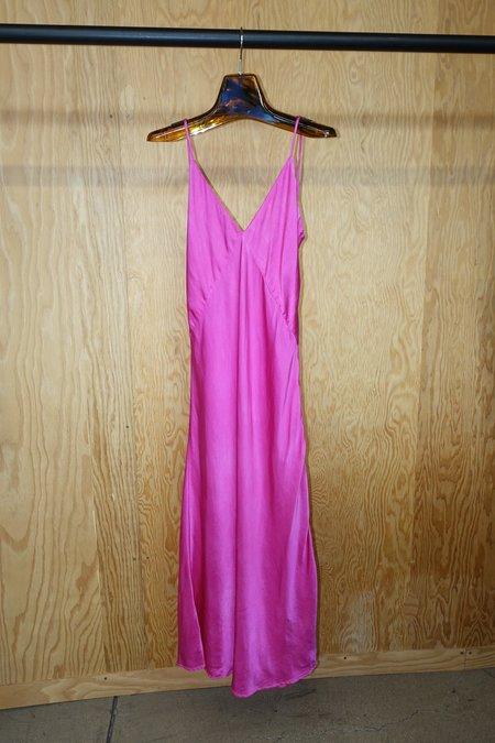 SVNR Vee Midi Slip Dress - Orchid