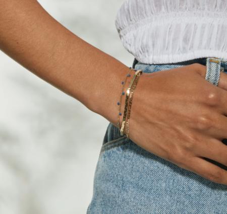 Jenny Bird Modri Triple Strand Bracelet - Gold