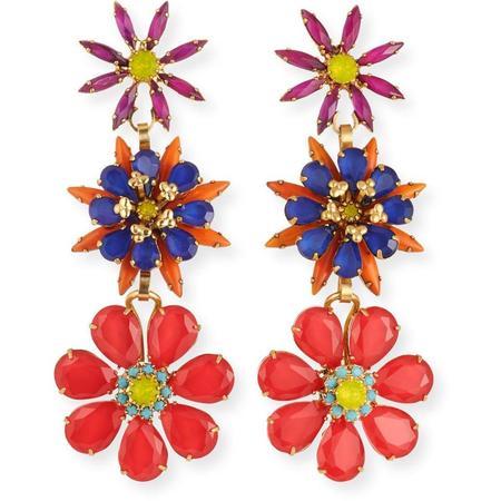 Elizabeth Cole Astrid Earrings - Gold