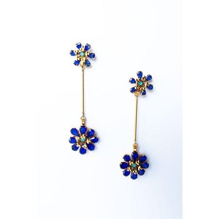 Elizabeth Cole Carin Earrings - Gold