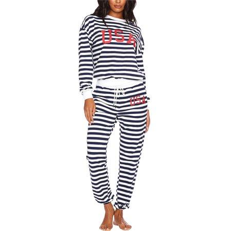 Beach Riot USA Sweatpants - Nautical Stripe