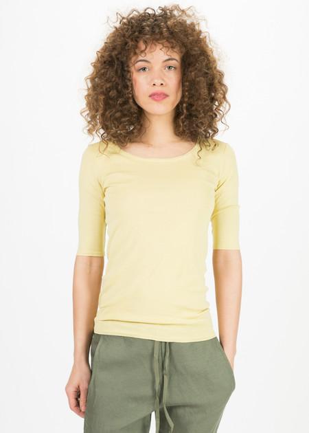 Kristensen du Nord Elbow Sleeve Scoop Neck T-shirt