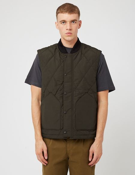 Filson Quilted Pack Vest - Dark Otter Green
