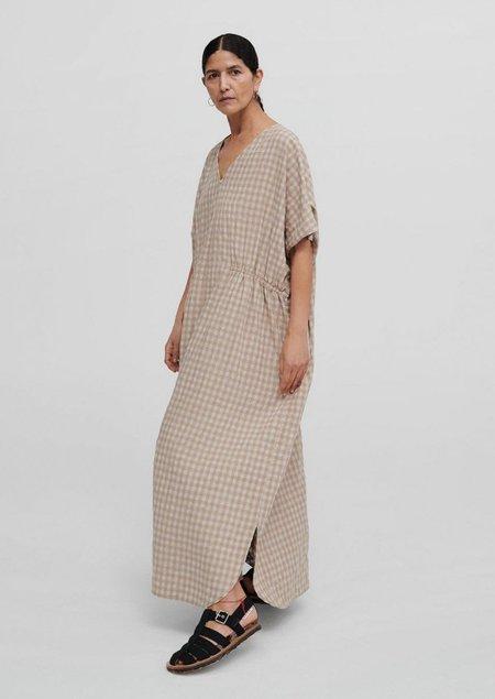 Mónica Cordera Checkered Maxi Dress - Nomad