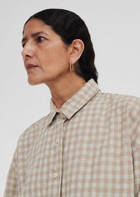 Mónica Cordera Checkered Shirt - Nomad