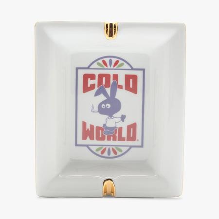 Cold World Frozen Goods Motel Bunny Ash Tray - White