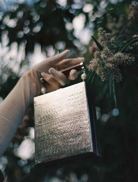 The Hold label Modern World Handbag - Brass