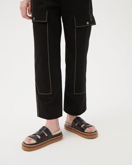Rejina Pyo Maggie Sandal - Leather Black
