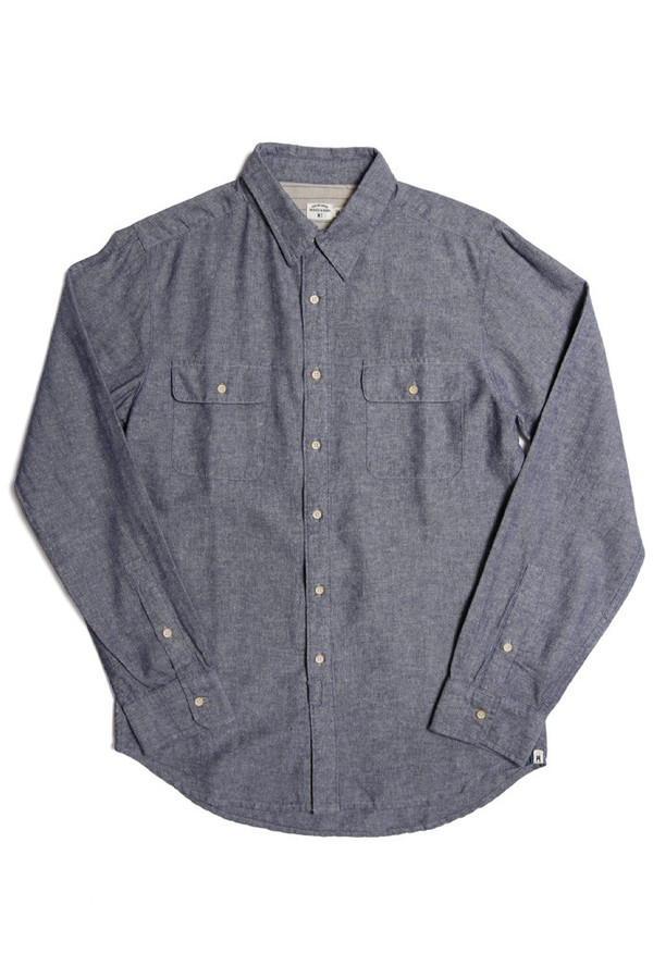 Men's Bridge & Burn Powell Linen Chambray