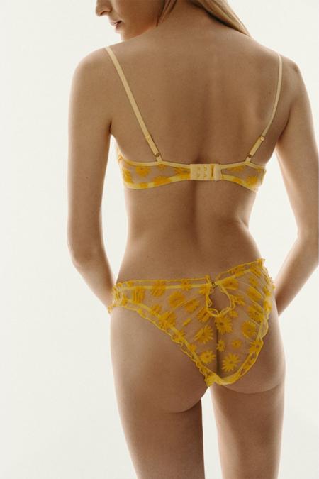 Le Petit Trou Clivia Bra - Yellow