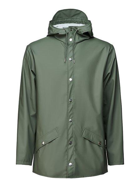 unisex Rains Classic Jacket - Olive