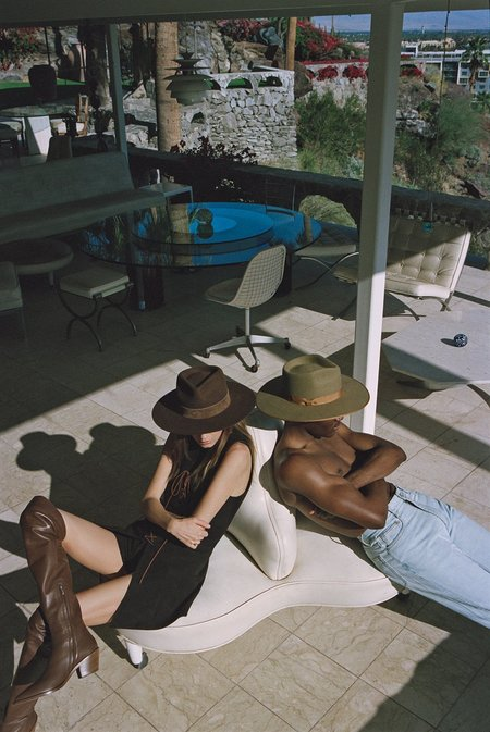 Unisex Lack of Color The Mirage Coco fedora hat - Chocolate Brown