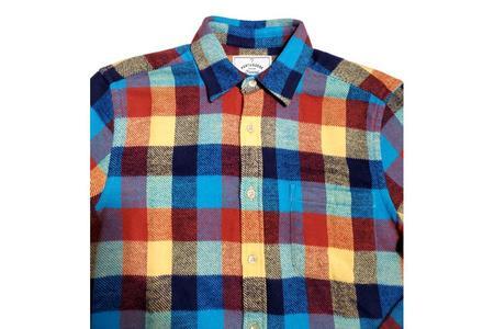 Portuguese Flannel Performance Check Shirt - multi