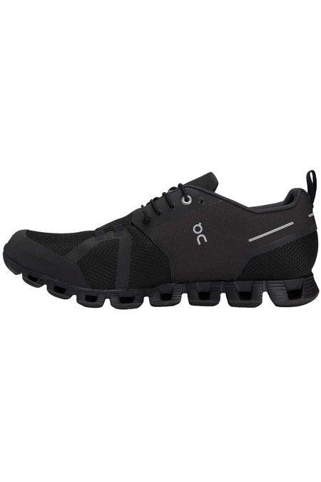 ON Running Mens Cloud Waterproof Shoes - Black / Lunar
