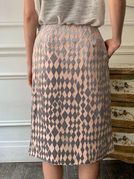 Mina Perhonen Brillant Skirt - Grey/Blush