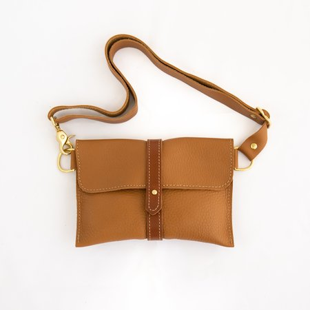 Salchicha Crossbow Leather Hand-Made Hip Pouch bag