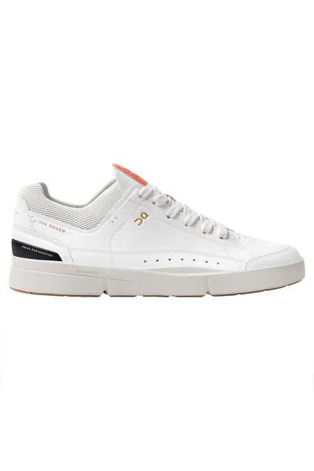 ON Running Women's The Roger Centre Court Shoes - White/Flame
