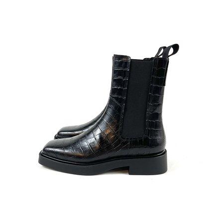 Vagabond Jillian Boots - Black Croco
