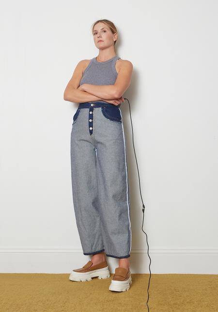 Maison Margiela MM6 Inside out Jeans - Raw Denim