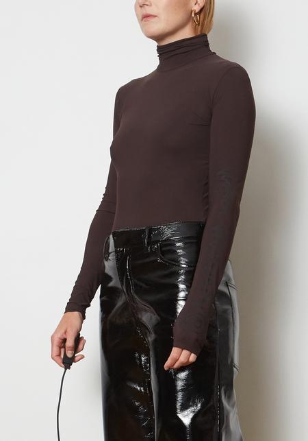 Maison Margiela MM6 Stretch Jersey Bodysuit - Brown