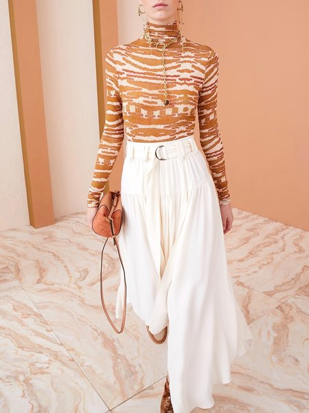 Vida Skirt in Blanc by Ulla Johnson