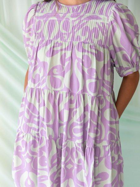 Find Me Now Dream On Dress - PURPLE