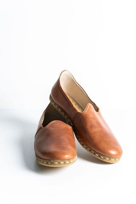 Ocelot Market Women's Turkish Yemeni Loafers - BROWN
