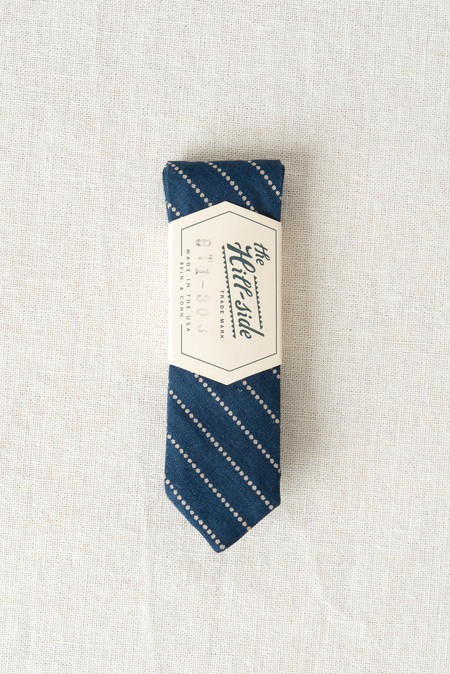 The Hill-Side/Hickoree's Bow Tie In Dot Stripe
