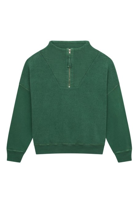 The Great. The Trail Pullover - Juniper