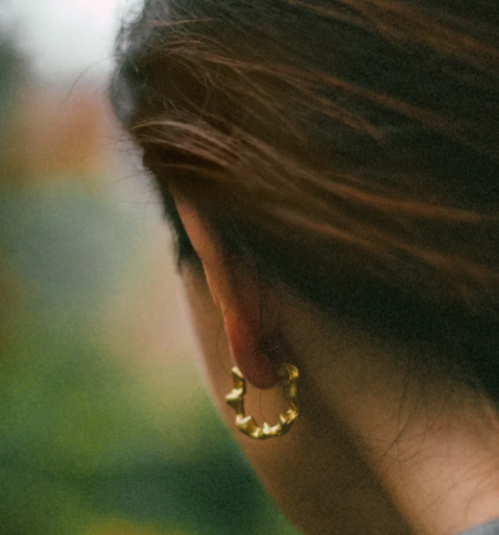 Simuero  Crab Earrings - Gold
