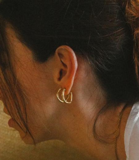 Simuero  Lora Earrings - Gold