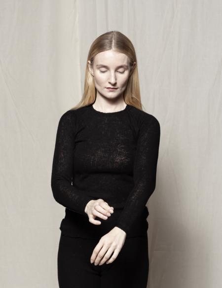 gudrun&gudrun Eco Wool Barba Pullover - Black