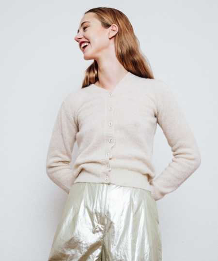 gudrun&gudrun Petit Cardigan - Off-white