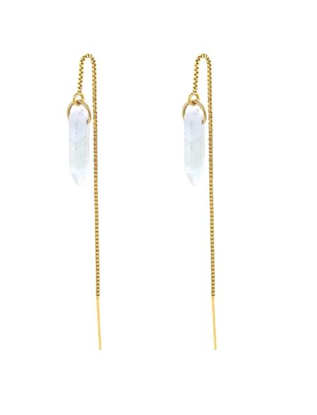 Jurate Moon Child Earrings - 14K Gold Filled
