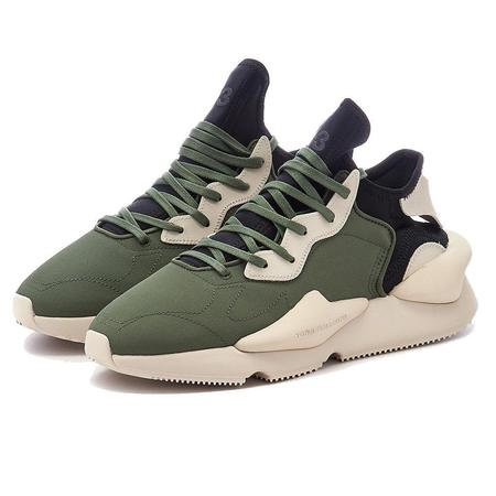 Adidas Y-3 Kaiwa sneakers - Shadow Green/Bliss/Black