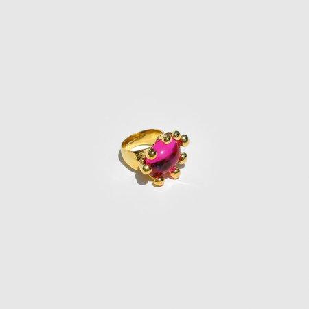 Mondo Mondo Diva Ring - Fuchsia