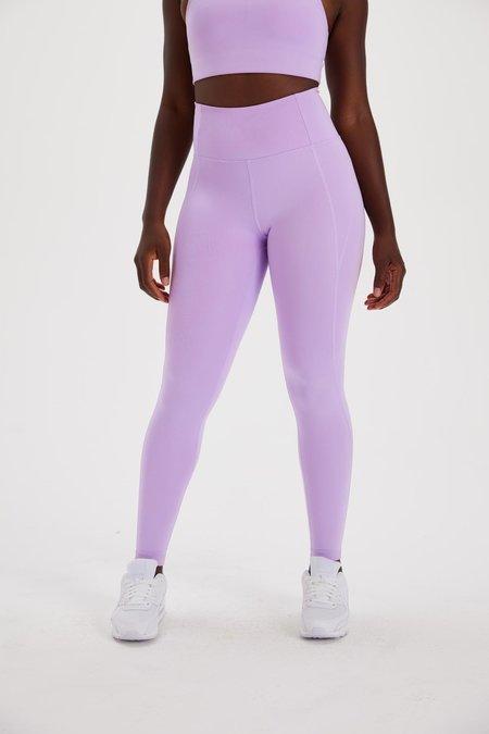 Girlfriend Collective Compressive High Rise Legging - Lilac